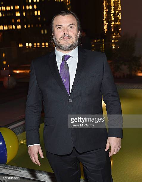 Jack Black attends the The Cinema Society Banana Boat Host The New York Premiere Of IFC Films' The D Train after party at Jimmy At The James Hotel on...