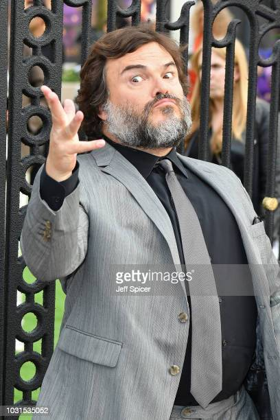 """Jack Black attends the World Premiere of """"The House With The Clock In Its Walls"""" at Westfield White City on September 05, 2018 in London, England."""