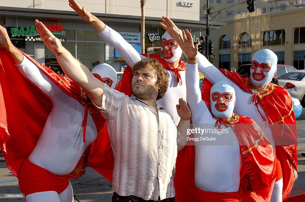 """""""Nacho Libre"""" World Premiere - Arrivals : News Photo"""