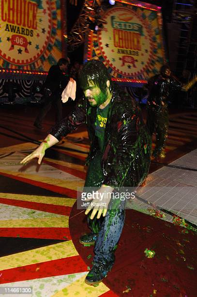 Jack Black **exclusive coverage** during Nickelodeon's 19th Annual Kids' Choice Awards - Backstage and Audience at Pauley Pavillion in Westwood,...