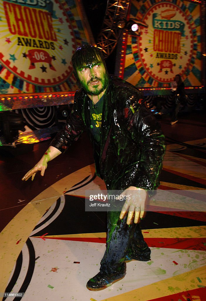 Jack Black **exclusive coverage** during Nickelodeon's 19th Annual Kids' Choice Awards - Backstage and Audience at Pauley Pavillion in Westwood, California, United States.
