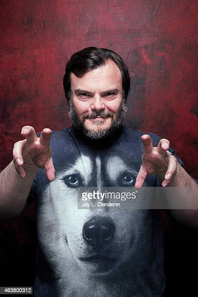 Jack Black is photographed for Los Angeles Times on January 24 2015 in Park City Utah PUBLISHED IMAGE CREDIT MUST READ Jay L Clendenin/Los Angeles...