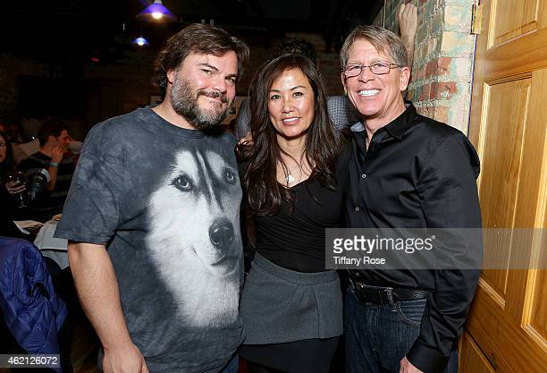 Jack Black Mimi Kim and Kenny Griswold attend ChefDance 2015 Presented By Victory Ranch And Sponsored By Merrill Lynch Freixenet And Anchor...