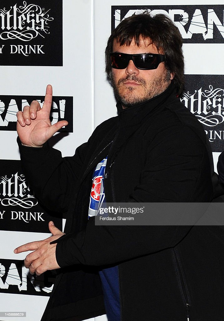 Jack Black of Tenacious D attends the Kerrang! Awards at The Brewery on June 7, 2012 in London, England.