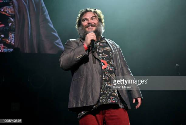 Jack Black performs onstage during I Am The Highway A Tribute To Chris Cornell at The Forum on January 16 2019 in Inglewood California
