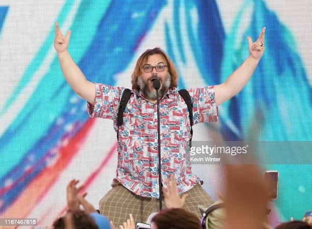 Jack Black speaks onstage during FOX's Teen Choice Awards 2019 on August 11 2019 in Hermosa Beach California