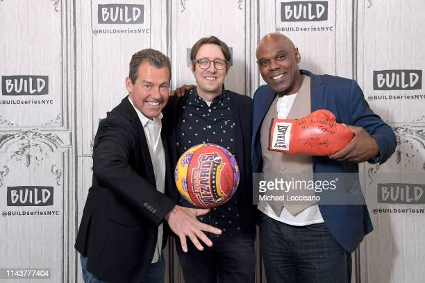 Jack 'BlackJack' Ryan director Mickey Duzyj and Michael Bentt visit Build to discuss the docuseries 'Losers' at Build Studio on April 19 2019 in New...