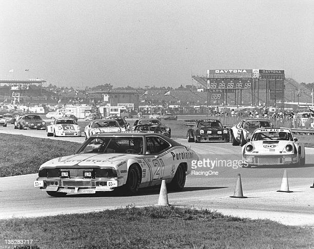 BEACH FL — January 31 February 1 1976 Jack Bowsher entered this Ford Torino in the 24 Hours of Daytona at Daytona International Speedway Bowsher's...