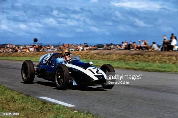Jack Brabham CooperClimax T51 Grand Prix of Great Britain Aintree 18 July 1959