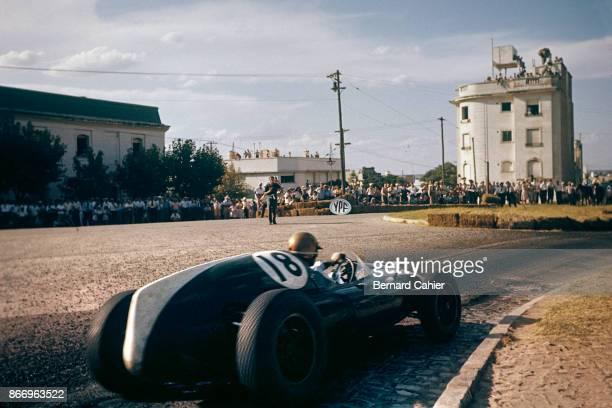 Jack Brabham CooperClimax T53 Grand Prix of Argentina Autodromo Juan y Oscar Galvez Buenos Aires 07 February 1960