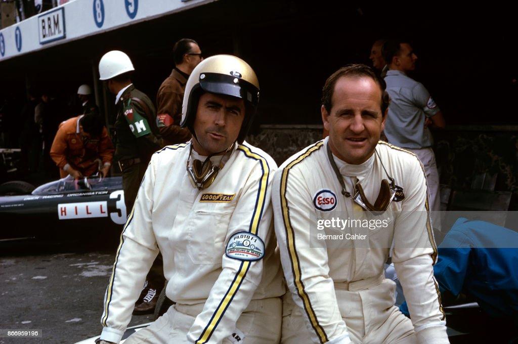Jack Brabham, Denny Hulme, Grand Prix Of Mexico : ニュース写真
