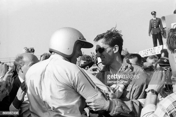Jack Brabham Grand Prix of the Netherlands Circuit Park Zandvoort 24 July 1966 A happy Jack Brabham after his victory in the 1966 Grand Prix of...