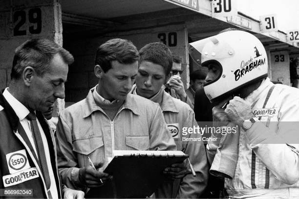 Jack Brabham Ron Dennis Grand Prix of Great Britain Brands Hatch 18 July 1970