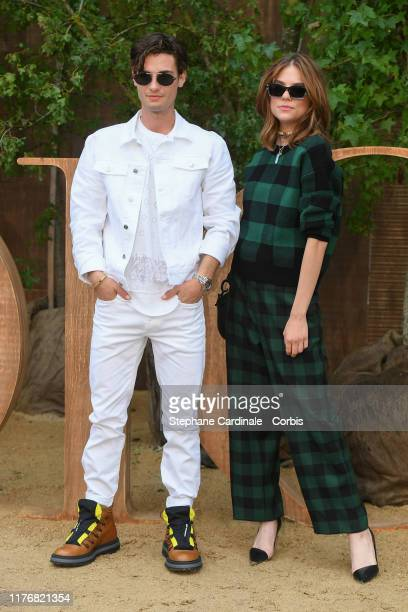 Jack Brett Anderson and Morgan Polanski attend the Christian Dior Womenswear Spring/Summer 2020 show as part of Paris Fashion Week on September 24...