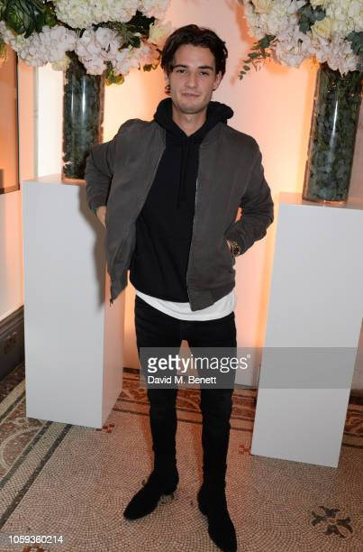 Jack Brett Anderson attends a party celebrating Edward Enninful's one year anniversary as EditorinChief of British Vogue at The National Portrait...