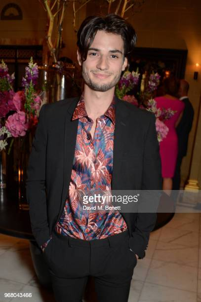 Jack Brett Anderson attends an after party following the UK Premiere of 'The Happy Prince' hosted by Justine Picardie editor of Harper's Bazaar at...