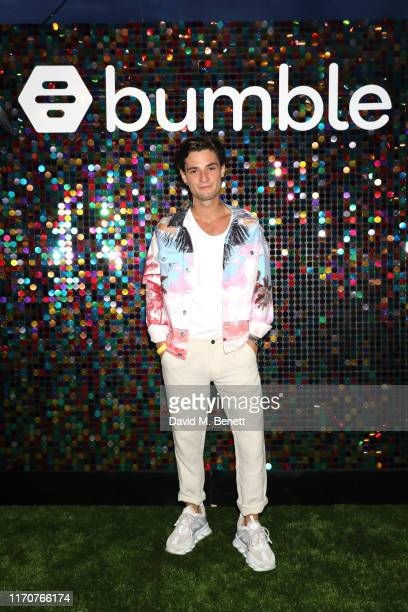 Jack Brett Anderson attends Bumble's Summer Singles Pool Party at Shoreditch House on August 28 2019 in London England