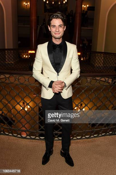 Jack Brett Anderson attends The 64th Evening Standard Theatre Awards at the Theatre Royal Drury Lane on November 18 2018 in London England
