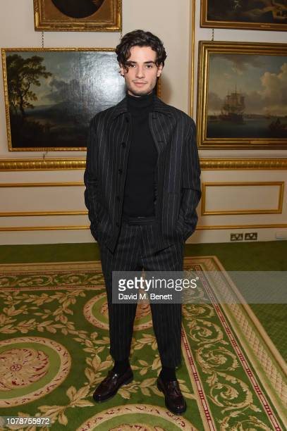 Jack Brett Anderson attends the Barbour presentation during London Fashion Week Men's January 2019 at Lancaster House on January 7 2019 in London...