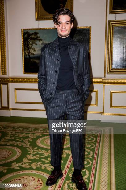 Jack Brett Anderson attends the Barbour Presentation during London Fashion Week Men's January 2019 at Lancaster House on January 07 2019 in London...