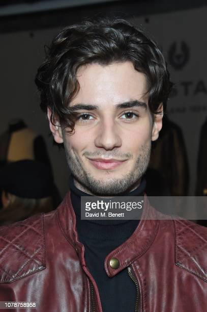 Jack Brett Anderson attends the Belstaff presentation during London Fashion Week Men's January 2019 at Belstaff House on January 7 2019 in London...