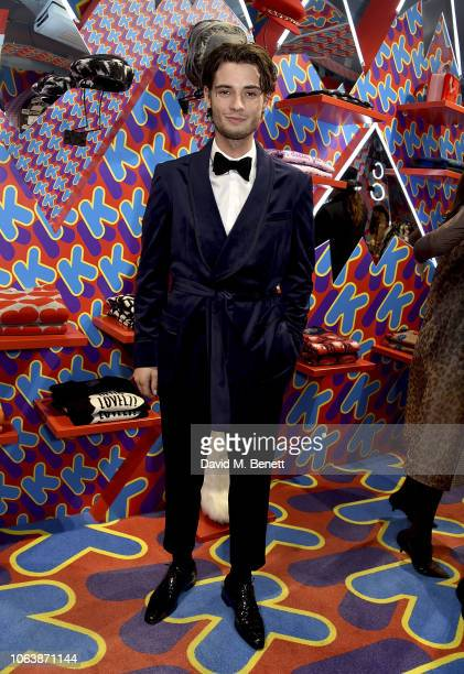 Jack Brett Anderson attends the Koibird x Libertine take over at Koibird on November 20 2018 in London England