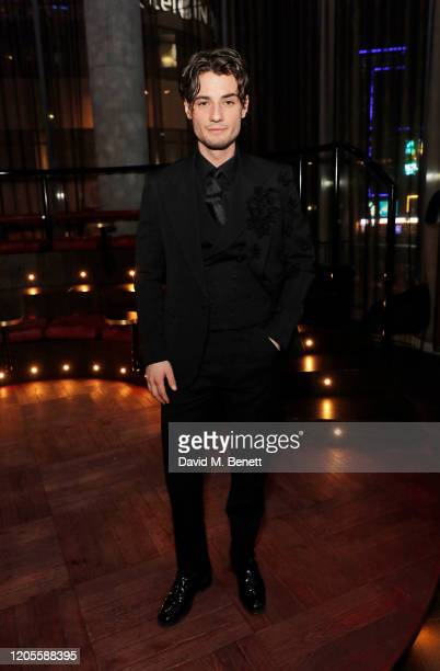 Jack Brett Anderson attends the launch party of Syndrome cohosted by Gentleman's Journal and Jack Brett Anderson at W London on February 11 2020 in...