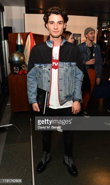 Jack Brett Anderson attends the Levi's Vintage Clothing SS19 Rocket City Collection party at The Royal Observatory Greenwich on March 20 2019 in...