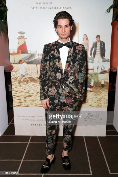 Jack Brett Anderson attends the Newport Beach Film Festival UK Honours in association with Visit Newport Beach at The Rosewood Hotel on February 15...