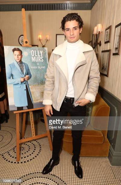 Jack Brett Anderson attends the Olly Murs x River Island collection launch dinner at Kettner's Townhouse on November 6 2018 in London England