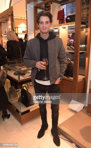 Jack Brett Anderson attends the Salvatore Ferragamo Old Bond Street 80th Anniversary Cocktail on November 8 2018 in London England