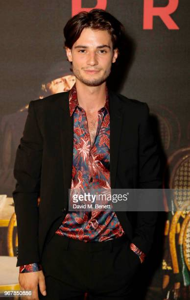 Jack Brett Anderson attends the UK Premiere of 'The Happy Prince' at the Vue West End on June 5 2018 in London England