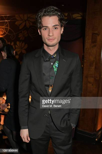 Jack Brett Anderson attends the Vanity Fair EE Rising Star Party ahead of the 2019 EE BAFTAs at The Baptist L'Oscar Hotel on January 31 2019 in...