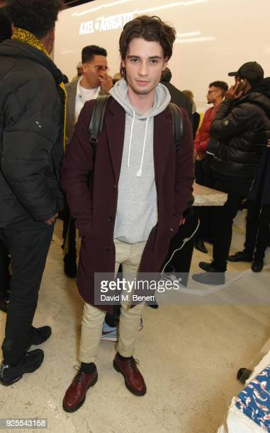 Jack Brett Anderson attends the What We Wear x Axel Arigato pop up shop launch party on February 28 2018 in London England
