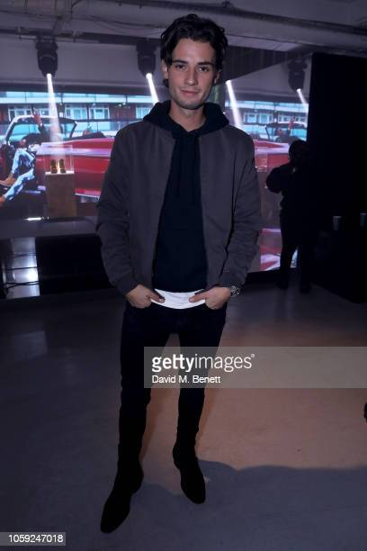 Jack Brett Anderson attends Timberland 45th Anniversary Exhibition Launch on November 8 2018 in London England