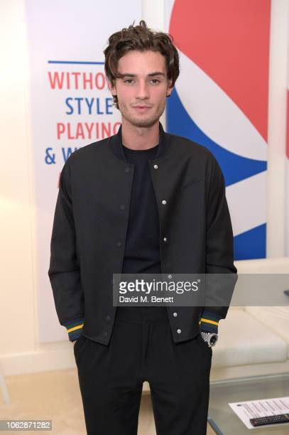 Jack Brett Anderson poses in the Lacoste VIP Lounge during SemiFinal Day of the 2018 Nitto ATP World Tour Tennis Finals at The O2 Arena on November...