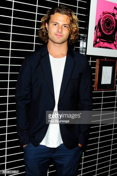 Jack BrinkleyCook attends The Weinstein Company with FIJI Grey Goose Lexus and NetJets host the after party for Wind River at The Skylark on August 2...