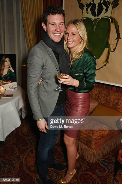 Jack Brooksbank and Maddie Chesterton attend the launch of the Baar Bass own brand collection at Mark's Club on December 14 2016 in London England