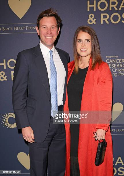Jack Brooksbank and Princess Eugenie attend the Horan & Rose Show: Modest! Golf co-founder Niall Horan and Justin Rose brought the world of music and...