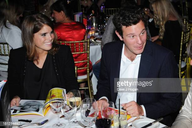 """Jack Brooksbank and Princess Eugenie of York attend the second annual """"Freddie For A Day"""" event in memory of Queen's late frontman Freddie Mercury,..."""