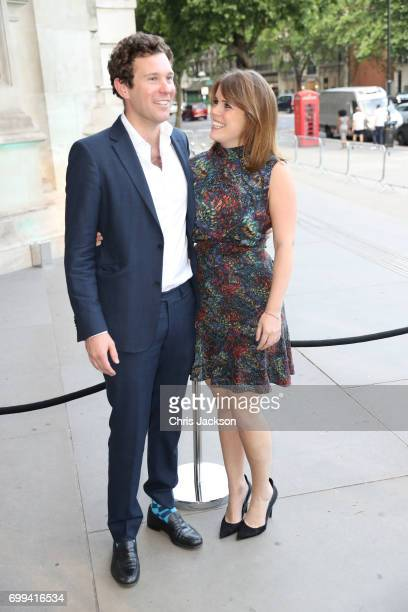 Jack Brooksbank and Princess Eugenie of York attend the VA summer party at The VA on June 21 2017 in London England