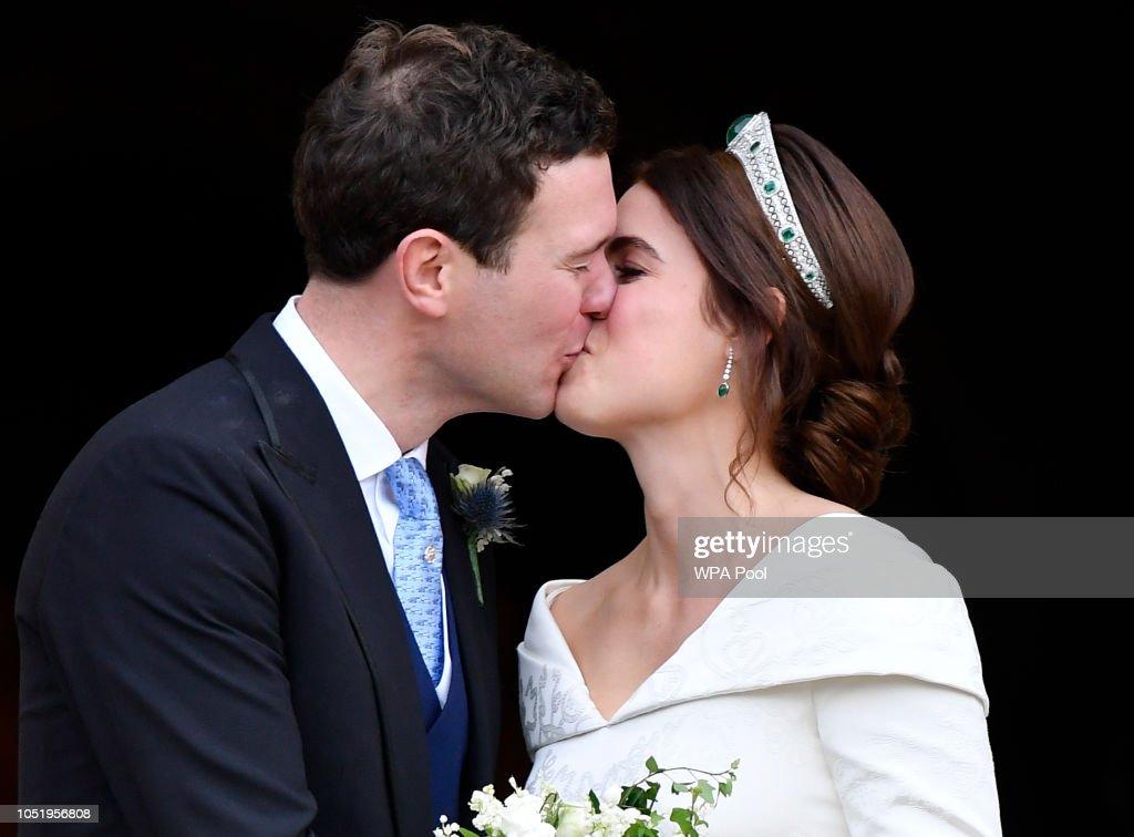 Princess Eugenie Of York Marries Mr. Jack Brooksbank : Foto di attualità