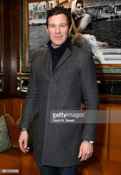 Jack Brooksbank attends a VIP exclusive preview of new Knightsbridge Italian restaurant Harry's Dolce Vita on November 28 2017 in London England
