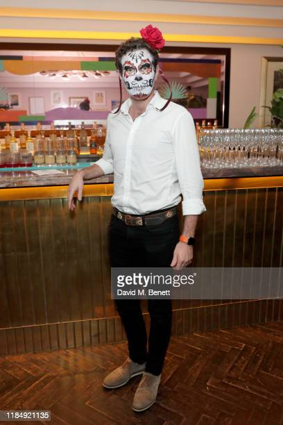 Jack Brooksbank attends Casamigos Tequila 'Day of the Dead' VIP party at The Mandrake Hotel on November 01, 2019 in London, England.
