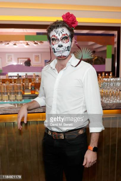 Jack Brooksbank attends Casamigos Tequila 'Day of the Dead' VIP party at The Mandrake Hotel on November 01 2019 in London England