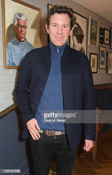 Jack Brooksbank attends the Casamigos VIP launch of Percy's Kensington on September 23, 2021 in London, England.