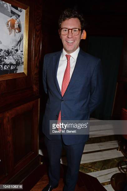 Jack Brooksbank attends the VIP launch of Harry's Bar James Street on October 3 2018 in London England