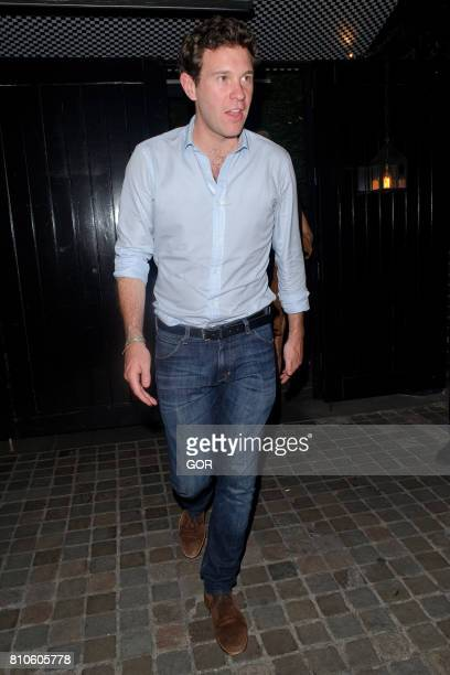 Jack Brooksbank sighting at the Chiltern Firehouse on July 7 2017 in London England