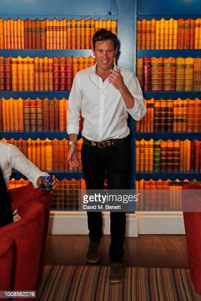 Jack Brooksbank speaks at Casamigos Tequila's Away for August private dinner at Bagatelle on July 31 2018 in London United Kingdom