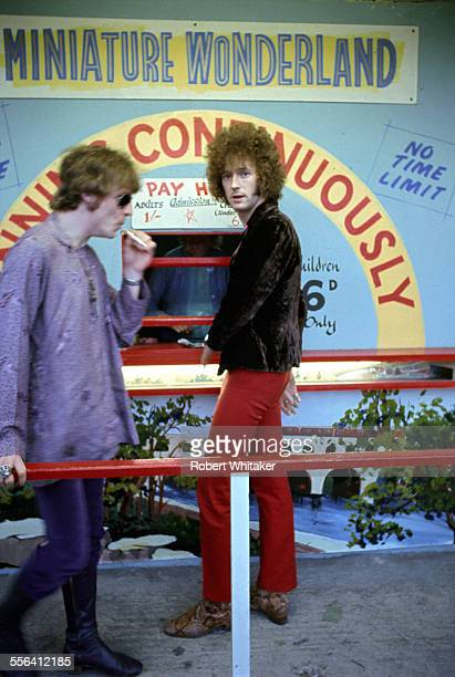 Jack Bruce and Eric Clapton of Cream July 1968